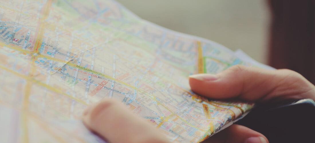 foto de mapa número de plan cuadrante