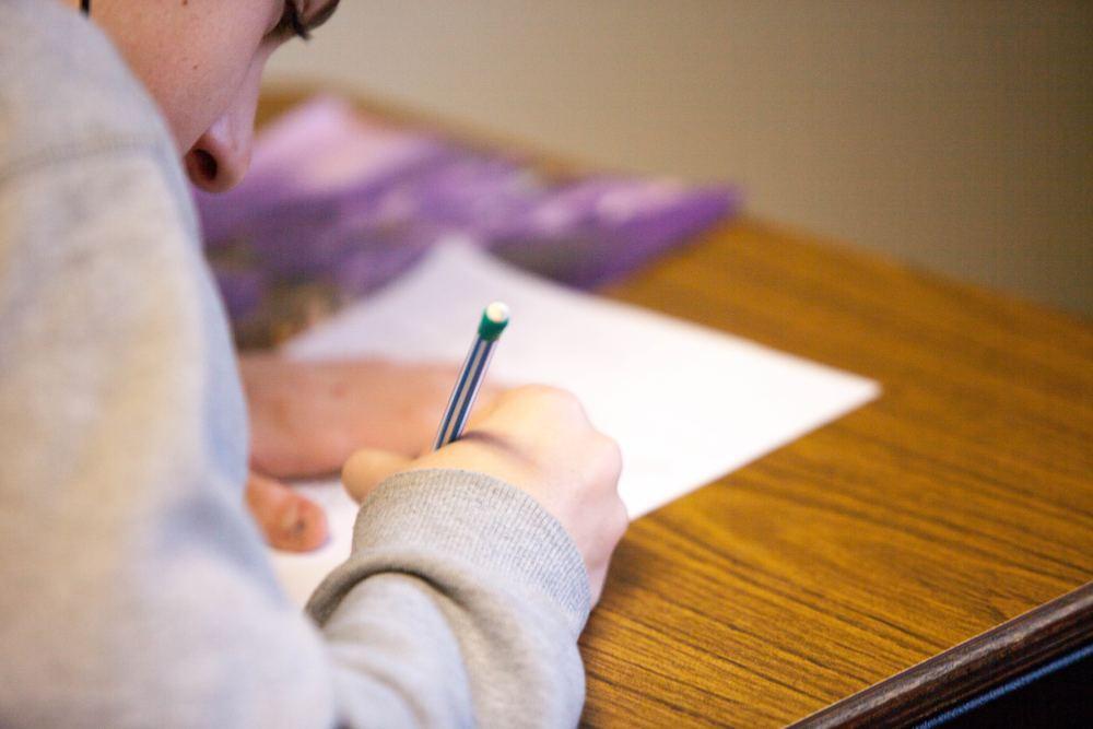 Alumno Estudiando