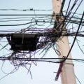Cables en Poste de Luz