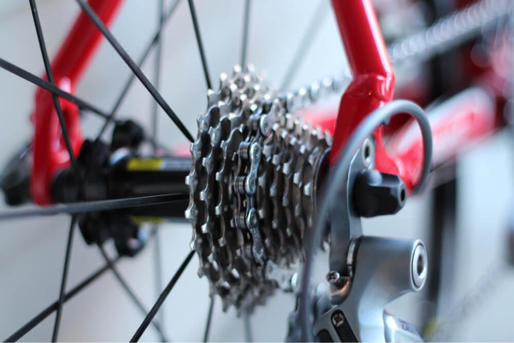 Foto de cadena de bicicleta