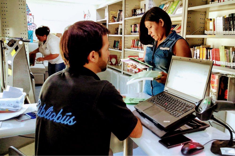 Foto de Bibliobuses en Puente Alto