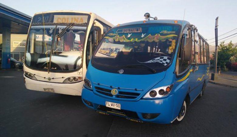 Foto de buses en puente alto