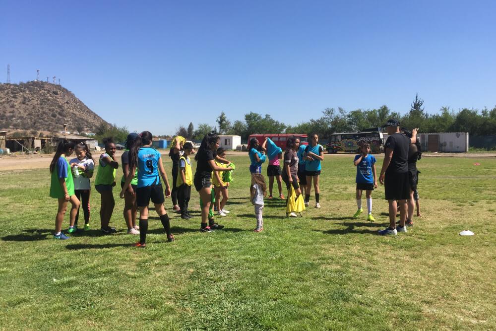 Taller de fútbol motivarte puente alto