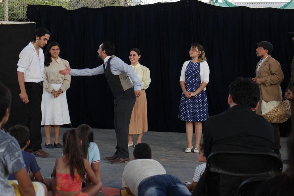 Foto de obra de teatro en puente alto
