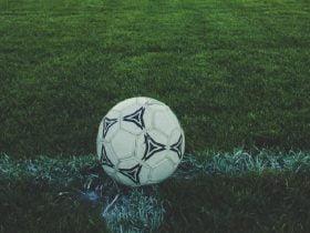 Foto de balón de fútbol
