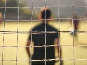 Foto de arquero de futbol