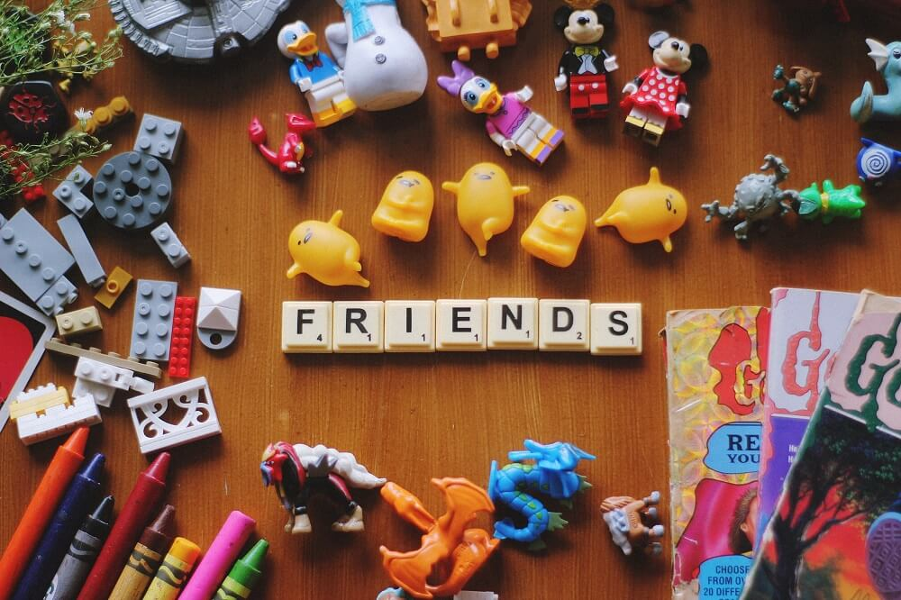 Foto de juguetes de niños