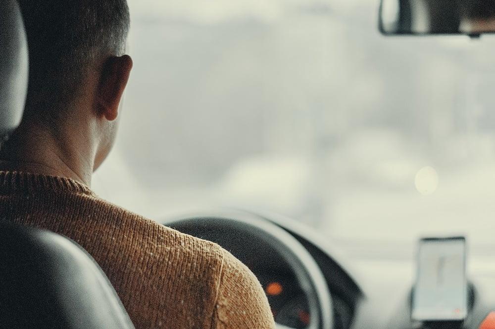 Foto de conductor auto