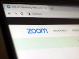 Foto de aplicación zoom