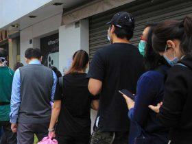 Foto de personas en la calle