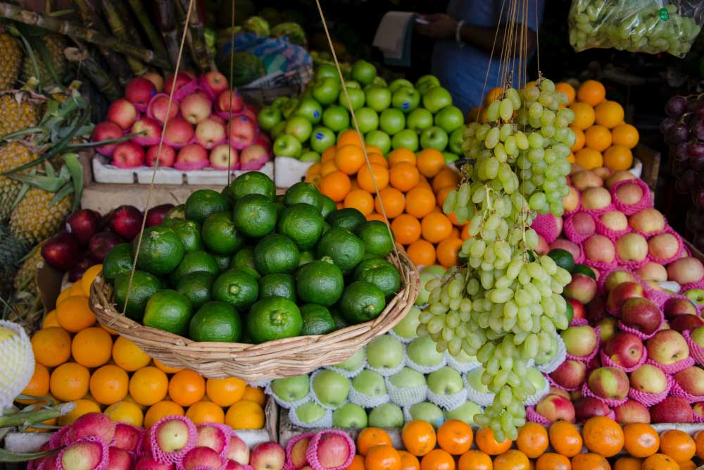 Foto de frutas y verduras puente alto