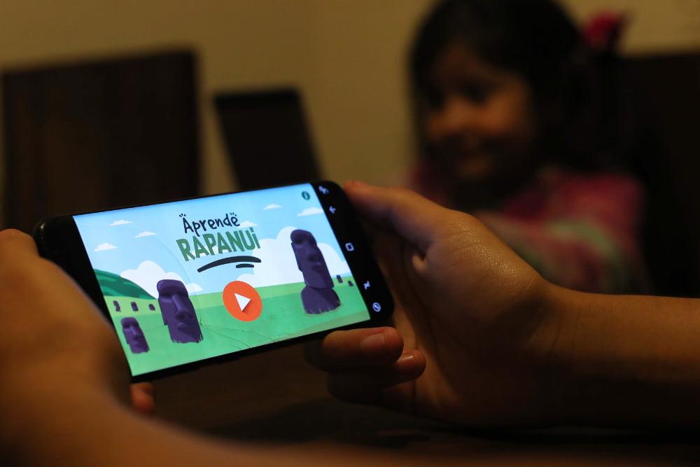 Aplicación para aprender lengua de rapa nui - somos puente alto