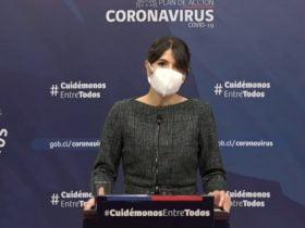 Subsecretaria katherine martorell hablando en cadena nacional